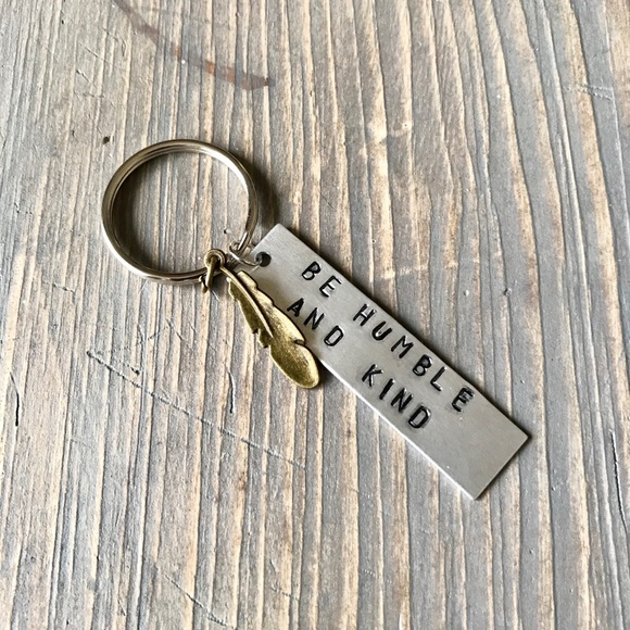 handmade Other - Hand stamped keychain